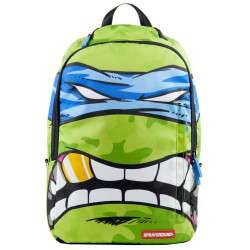 "Mochila Sprayground para Notebook 15.6"" Teenage Mutant Ninja Turtles B190B TMNT (Leonardo)"