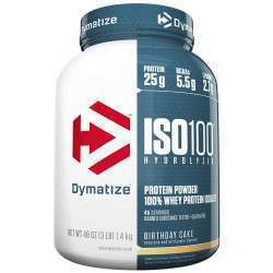Dymatize ISO100 Hydrolyzed Birthday Cake 1.4kg