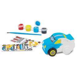 Figura Cofrinho de Carro para Colorir Melissa & Doug (35 Stickers)