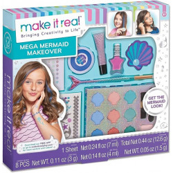 Make IT Real Mega Mermaid Kit Maquiagem Sereia - 2460