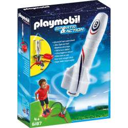Playmobil Sports & Action Foguete com Propulsor 6187