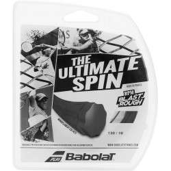 Corda Babolat The Ultimate Spin 130/16 12m/40 241136-105 Black