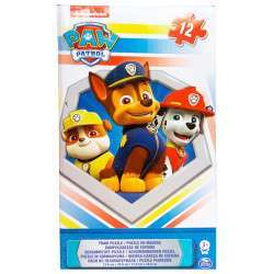 Paw Patrol Spin Master Foam Puzzle - 6033161- 12pcs
