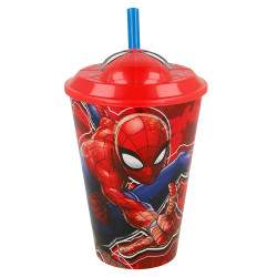 Copo Marvel Spider-Man Stor 3D - 415ml