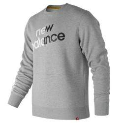 Moletom New Balance Essentials Lin BRD Crew MT83576AG Masculino