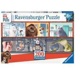 Quebra cabeça Ravensburger Puzzle The Secret life of Pets (200pcs)