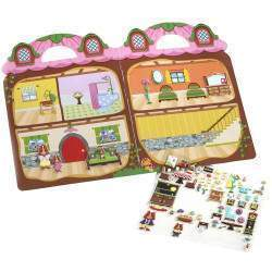Sticker Reutilizável Chipmunk House Melissa & Doug - 9101 (75 Stickers)