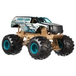 Veículo Cyber Crush Monster Trucks Hot Wheels FYJ83