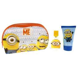 Kit Perfume Air-Val Minions Despecable Me EDT 50mL + Shower Gel 100mL