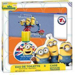 Kit Perfume Air-Val Minions New York EDT 30mL + Estojo