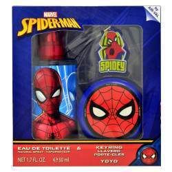Kit Perfume Marvel Spider-Man EDT 50mL + Yoyo + Chaveiro - Infantil