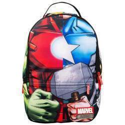 "Mochila Sprayground para Notebook 15.6"" Marvel Avenger Collage B501"