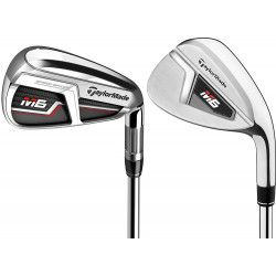 Kit Tacos de Golfe Taylormade M6 Ladies Irons/Wedge Tuned 45 L 5-P,A,S/Rh (8 Unidades)