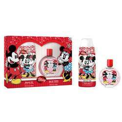 Kit Disney Minnie e Mickey Shower Gel 300mL + Perfume EDT 100mL - Infantil