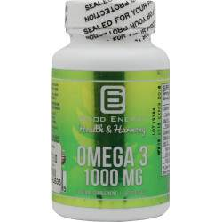 Suplemento Good Energy Omega 3 1000 mg 60 Capsulas