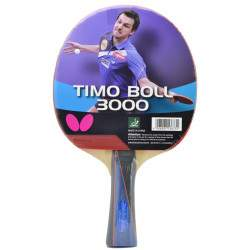 Raquete para Ping Pong Butterfly Timo Boll 3000