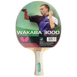 Raquete para Ping Pong Butterfly Wakaba 3000