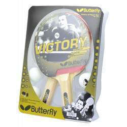 Raquete para Ping Pong Butterfly Kit Victory