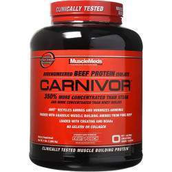 MuscleMeds Carnivor Protein Isolate Fruit Punch 4 lbs (1.808g)