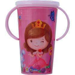 Copo Infantil Plasútil Magic Princesa - 8309