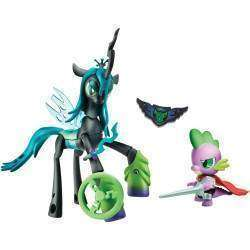 My Little Pony Hasbro Queen Vs Spike B7298