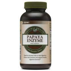 GNC Natural Brand Papaya Enzyme 240 cápsulas