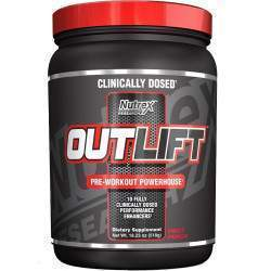 Nutrex Outlift Pre-Workout Powerhouse Fruit Punch 518gr