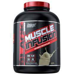 Nutrex Research Muscle Infusion Advanced Protein Blend - Baunilha (5 lbs - 2268g)