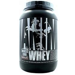 Universal Nutrition Animal Whey Muscle Food Chocolate 2LB(907g)