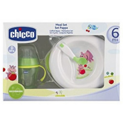 Kit Talheres Chicco Meal Set Pappa 6832 - 6m+