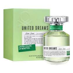 Perfume Benetton United Dreams Live Free EDT 50mL - Feminino