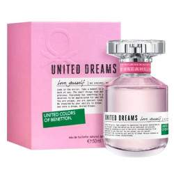 Perfume Benetton United Dreams Love Yourself EDT 50mL - Feminino