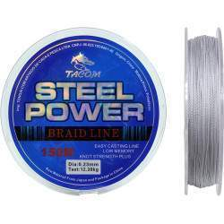 Linha Multifilamento Tacom Steel Power 150M 0.23mm 12.38kg