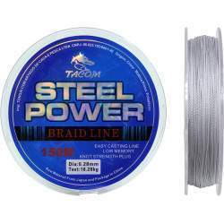 Linha Multifilamento Tacom Steel Power 150M 0.28mm 18.28kg