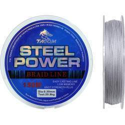 Linha Multifilamento Tacom Steel Power 150M 0.30mm 20.8kg