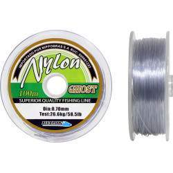 Linha Monofilamento Blue Fish Nylon Ghost 0.70mm 26.6kg 100m