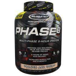 Muscletech Performance Phase8 Cookies and Cream 2,09kg