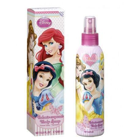 Colônia Corporal Disney Princess 200mL - Infantil