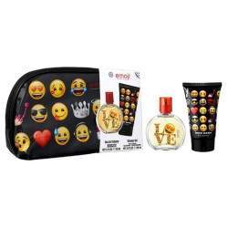 Kit Perfume Air-Val Emoji EDT 50mL + Shower Gel 100mL + Estojo - Infantil