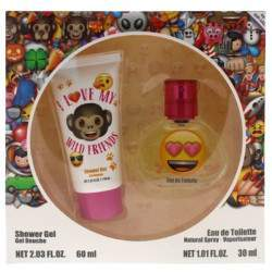 Kit Perfume Air-Val Emoji EDT 60mL + Shower Gel 30mL - Infantil