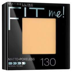 Pó Compacto Maybelline Fit Me! Matte Poreless - Cor 130 Buff Beige