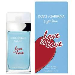 Perfume Dolce & Gabbana Love is Love EDT 50mL - Feminino