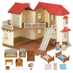 Epoch Sylvanian Families - City House With Lights Gift Set - 3644