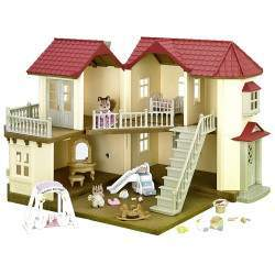 Epoch Sylvanian Families - City House With Lights Gift Set - 3645