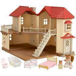 Epoch Sylvanian Families - City House With Lights Gift Set - 2748