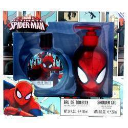 Perfume Ultimate Spider-Man EDT 100mL + Gel 250mL
