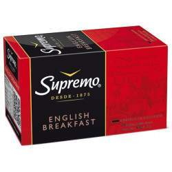 Chá Supremo English Breakfast (20 Unidades)