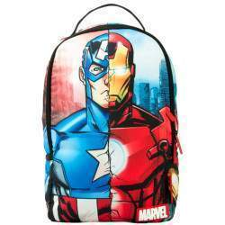 "Mochila Sprayground para Notebook 15.6"" Marvel Civil Wear B665"