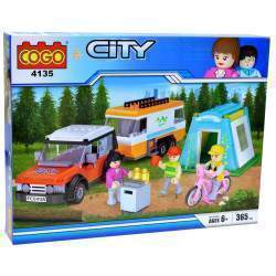 Cogo City Casa Rodante 4135 (365 pcs)