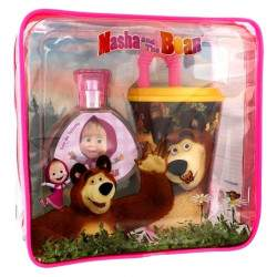 Perfume Masha An the Bear EDT 50mL + Copo+ Estocho